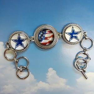Jewelry - Dallas Cowboys America's Team Bracelet